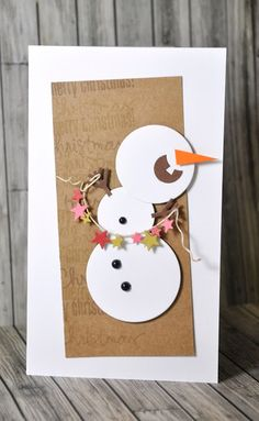 Crafting ideas from Sizzix UK: Do you want to build a snowman?