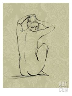 Sophisticated Nude I Giclee Print by Ethan Harper  for the bathroom