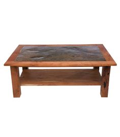 Reclaimed Wood End Table with Drawer This reclaimed wood square end