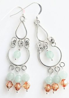 Check out this item in my Etsy shop https://www.etsy.com/listing/261155163/aventurine-green-stone-earrings-amber