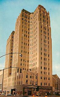 Vintage postcard: Medical Arts Building, 1713 Pacific Ave, downtown Dallas, Texas (1950s) by coltera, via Flickr