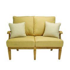 Ocean Grande Loveseat with Cushions
