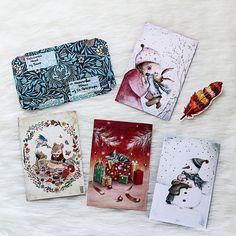 #postcard Волшебные иллюстрации на этих  открытках ^^
