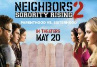 Neighbors 2 Sorority Rising is a brilliant sequel that pits Mac and Kelly against a sorority that is out of control and they have to find a way to stop them
