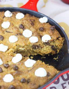 Objetivo: Cupcake Perfecto.: Mega cookie de chocolate y marshmallows