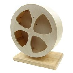 Alfie Pet by Petoga Couture - Brook Exercise Running Wheel with Stand for Mouse, Chinchilla, Rat, Gerbil and Dwarf Hamster