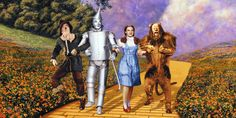 """The Wizard of Oz premiered in Oconomowoc, WI on this day in 1939 and Judy Garland became famous for the movie's song """"Somewhere Over the Rainbow. Wizard Of Oz Characters, Wizard Of Oz Movie, Wizard Of Oz 1939, Movie Characters, Judy Garland, Daft Punk, Over The Rainbow, Pink Floyd, Kansas"""