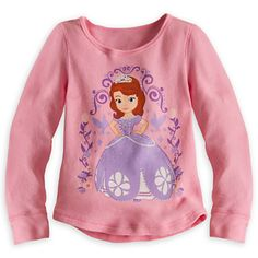 Trinity Sofia Long Sleeve Thermal Tee for Girls | Tees, Tops & Shirts | Disney Store