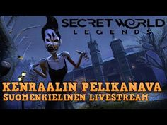 (FI) Secret World Legends  - Suomenkielinen livestream sessio #2 English Language, Playroom, Legends, The Secret, World, Movie Posters, The World, Game Room, Popcorn Posters