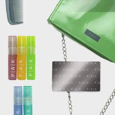 The Perfect Christmas Gift! More than a first aid kit or and emergency kit. PAK Organizes your essentials in your purse. Its a glamorous high fashion beauty wallet. What a great accessory!