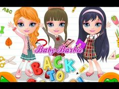 Baby Barbie Back To School - Game Movie