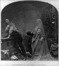 The Haunted Lane, Melander & Bro. 1889.