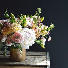 beautiful arrangement via design sponge