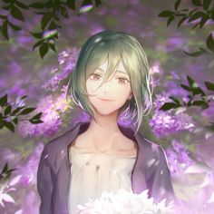 Leclle, Kagerou Project, Kido Tsubomi, Fanart From Pixiv Vocaloid, Green Hair Girl, Kagerou Project, Beauty Illustration, Naruto Cute, Stray Dogs Anime, Girls Frontline, Drawing Skills, Awesome Anime