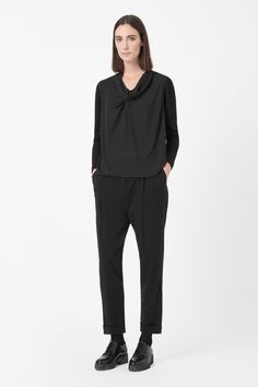 COS | Draped front jumper