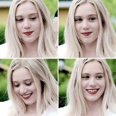 Noora and her cute smile