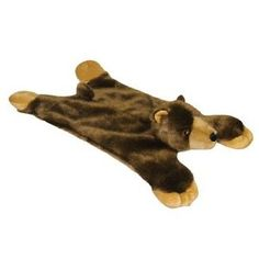 Sherpa Go Dog Baby Bear Wild West Flatties with Chew Guard Technology Small,$5.99
