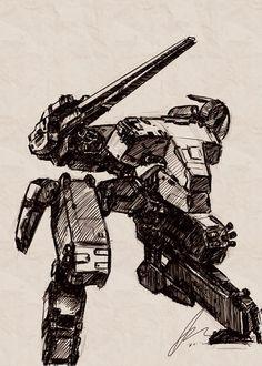 Metal Gear Art Studio - Rex 2 by SolidAlexei.deviantart.com on @deviantART
