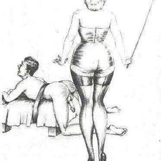 The cane on the bare bottom is a formidable punishment