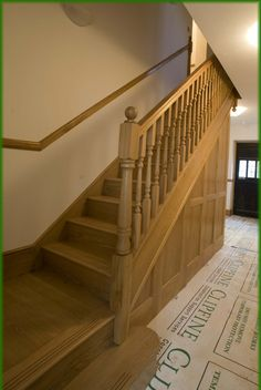 Grand Oak Staircase