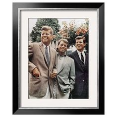I pinned this Brothers, John F. Kennedy, Robert Kennedy, and Ted Kennedy - Art.com from the Destination: Hyannis Port event at Joss and Main!