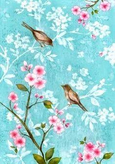 Blossom birds