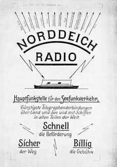 Norddeich Radio Radios, Short Waves, Cards, Maps, Playing Cards