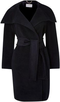 Marella Funnel neck belted wool coat on shopstyle.co.uk