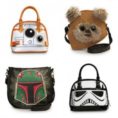 Want Boba Fett!! Loungefly Unveils New 'Star Wars' Bags And Wallets