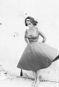 Elizabeth Taylor, lovely as always. #vintage #icon