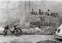 Du bonheur et rien d'autre ~ Happiness and nothing else. ✤Photo by Henri Cartier Bresson✤
