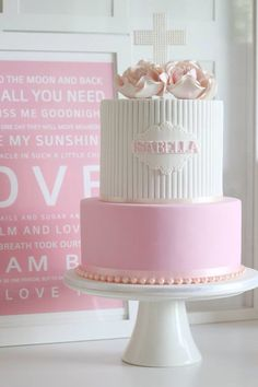 Beautiful cake for a girl!