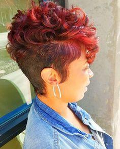 Nice cut and color via @MrsKJ5 - Black Hair Information Community