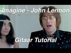 Imagine van John Lennon gitaar akkoorden spelen