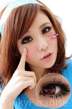 Free! Iwatobi Swim Club  Hazuki Nagisa cosplay red contact lenses  $22.90