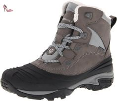 Merrell  Snowbound Mid WTPF J55624, Bottes femme - Noir - nero (Charcoal), 41 EU - Chaussures merrell (*Partner-Link)