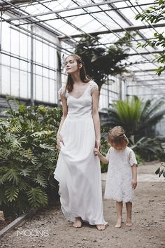 MOONS  [ ilargia ] model.  MOONS wedding dress -  a sensual mixture of minimalism with romanticism philosophy. made in Poland.