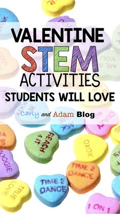 Valentine's Day STEM Activities that Students will Love