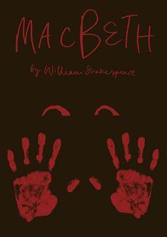 Macbeth. Shakespeare Posters by Dom McKenzie