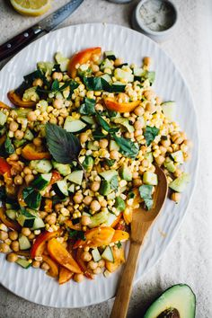Spicy Basil & Sweet Corn Summer Succotash