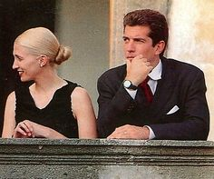 John Jr & Carolyn Bessette Kennedy!
