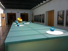 Aphelios, mariotti.mazzeo, 2013, acrilico, polistirene, plastica, legno, 1200x300 cm - Ignazio Mazzeo #art #sculpture #spinningtop #ignaziomazzeo