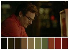 Fotografia no Cinema Movie Color Palette, Colour Pallete, Color Palettes, Moonrise Kingdom, Joaquin Phoenix, Cinema Colours, Color In Film, Pantone, Color Script