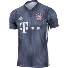 Bayern Munich Die Bayern Adidas NEW THIRD 2018 -19 FÚTBOL SOCCER CLUB KIT SHIRT  FOOTBALL a0025e592
