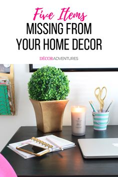 Are these five items missing from your home decor? Beautify your home with these DIY ideas and inspiration from Decor Adventures. Easy Diy Projects, Garden Projects, Make Money From Home, How To Make Money, Types Of Craft, Funky Junk, Interior Design Tips, Blogging For Beginners, Elle Decor