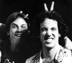 Johnny Colla and Sean Hopper