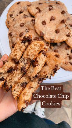 Fun Baking Recipes, Sweet Recipes, Snack Recipes, Dessert Recipes, Easy Homemade Cookie Recipes, Healthy Cookie Recipes, Homemade Cookies, Yummy Cookies, Healthy Baking