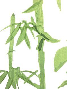 bamboo in green from bramalta #fabric #green