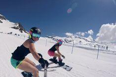 """""""Mi piace"""": 1,985, commenti: 24 - Michela Moioli (@michela_moioli) su Instagram: """"Still cold for this ❤ #sbxlife #snowboardgirls #snowboard #snowboardcross #summer #springtime"""""""