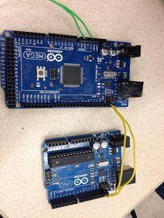 I2C Arduino configuration. Check out larsennerdlab.com for I2C tutorials!